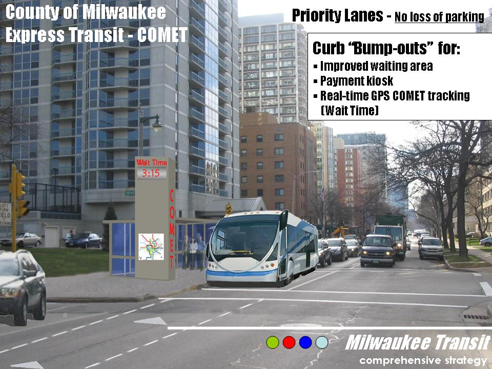 Express Transit Proposal for Milwaukee