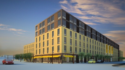 Hometown Dorm Site – Additional Project Renderings
