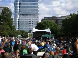 Jazz in the Park Starts Today, Kinda