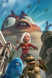 still Monsters vs. Aliens, courtesy Dreamworks