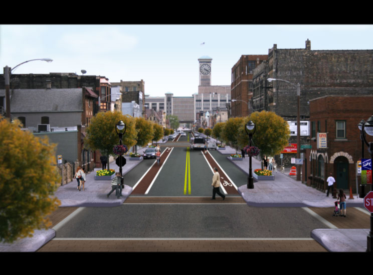 S. 2nd Street Redesign Concept is a Pretty GOOD One