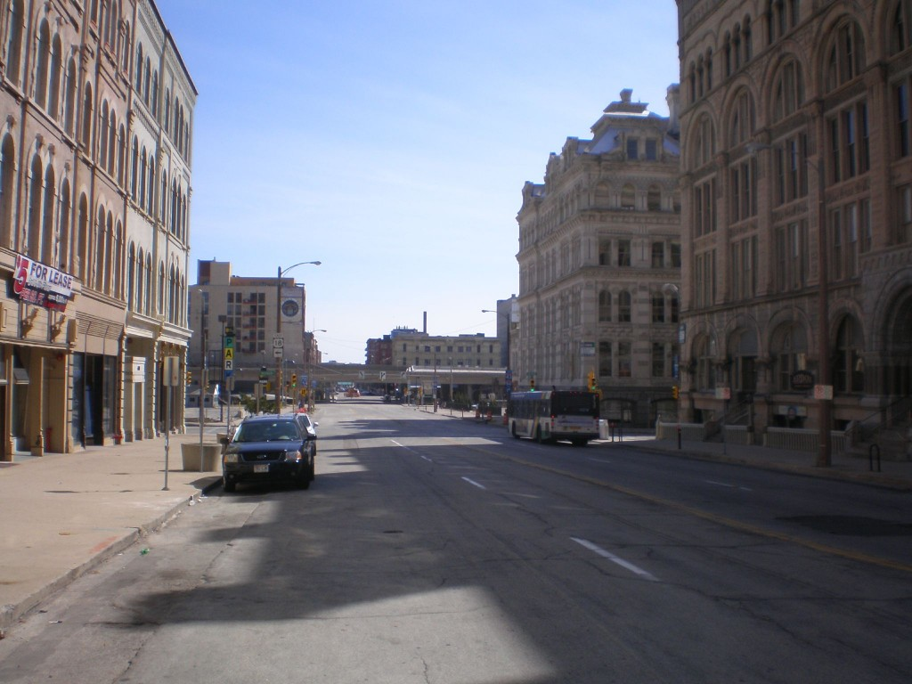 The incubator could be located along this stretch of Broadway.