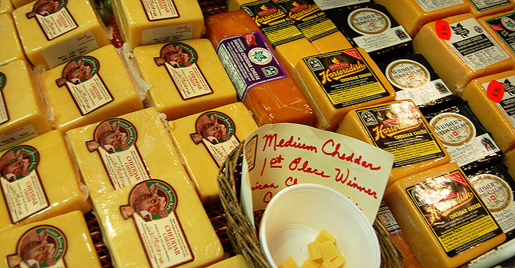 Governor Walker Announces Cheese as Official State Dairy