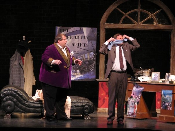 Official Productions stills from 2008's The Producers and 2009's Pirates of Penzance, courtesy Skylight Opera