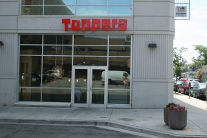 Toppers Pizza, founded in Whitewater, fits better in an urban residence hall than a suburban strip mall.