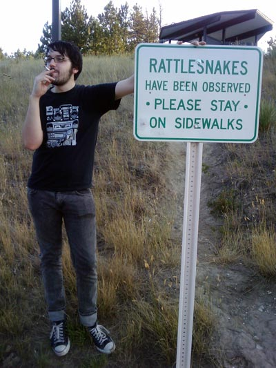 Fig.1: Watch out for snakes!