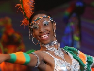 UniverSOUL dancer performs with Caribbean flair