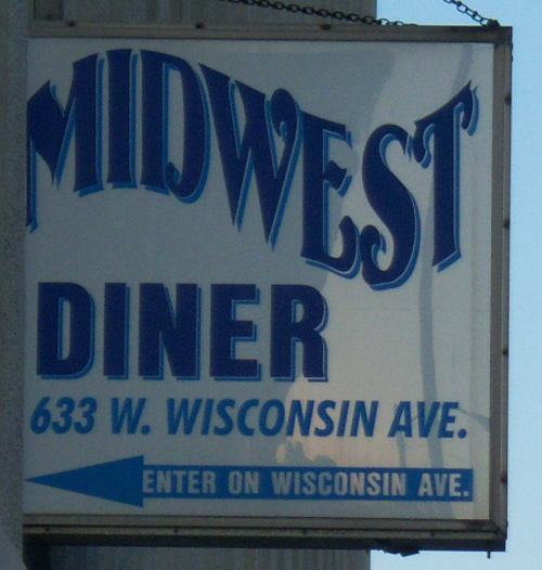 A no-frills lunch to be had downtown at the Midwest Diner