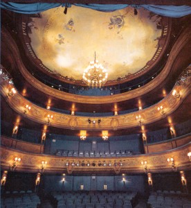 The Skylight's Cabot Theatre, from the stage
