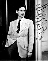 Leonard Bernstein, 1944 photo by Herman Landshoff photo, Library of Congress