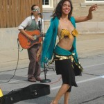 Belly dancing in Bay View