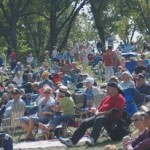 Humbolt Park was full of music lovers enjoying Global Union