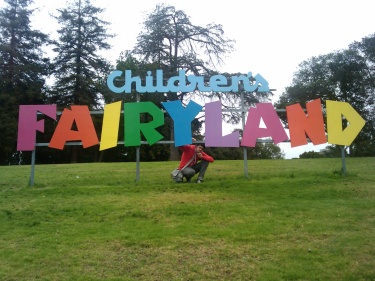 "Fig.1:A baller shot in front of a big ""Fairyland"" sign in the SF Bay Area is enough to make me giggle like I'm 12. Because I'm 12."