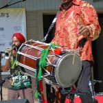 Red Baraat opened the show at Global Union