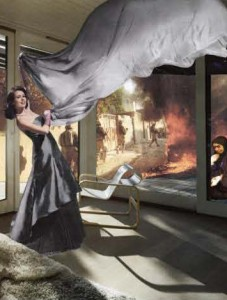 """Martha Rosler's """"The Grey Drape"""""""