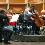 Yo-Yo Ma rehearses with the MSO for the September 30th concert