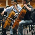 Yo and Joe practice their encore. Photo by Patti Wenzel.