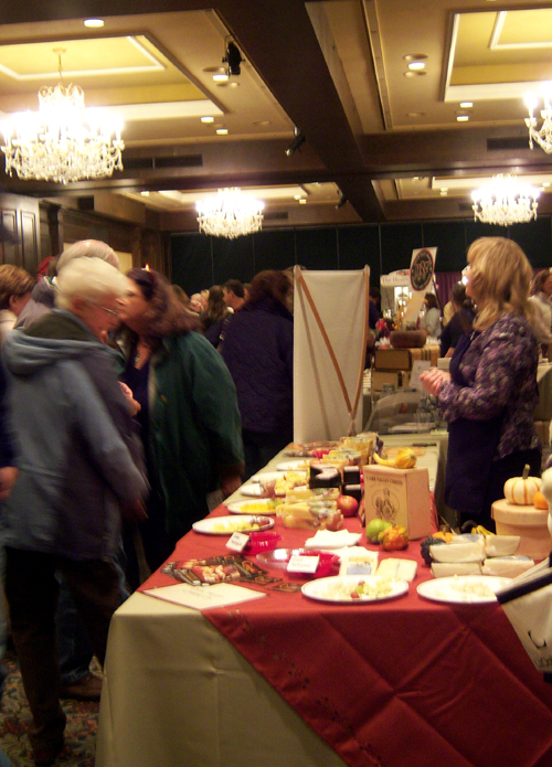 Eating and action in the Gourmet Marketplace.