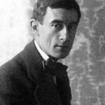 Maurice Ravel in 1912.