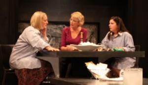 "Melinda Pfundstein, Julie Swenson and Karen Estrada in ""The Smell of the Kill."" Photo, courtesy of Jean Bernstein."