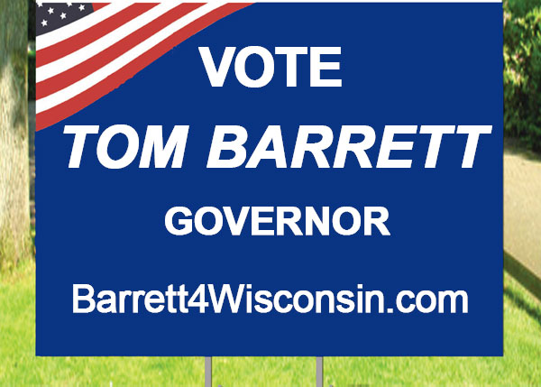 I made this in Photoshop, but it looks real enough. Kind of like Barrett's impending candidacy.