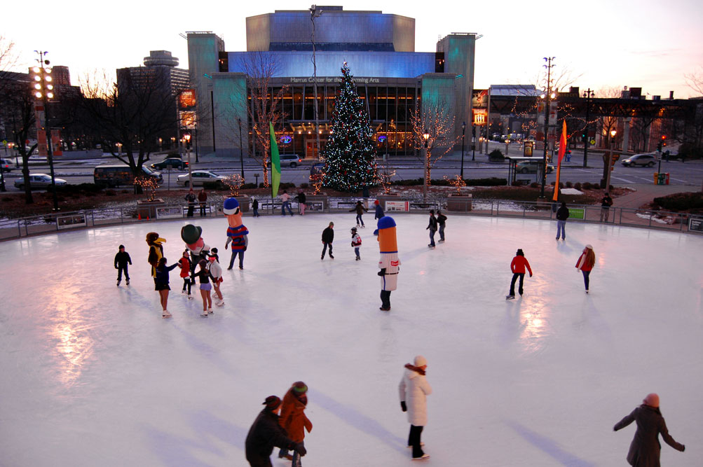 Friday: Last Chance to Skate at Slice of Ice