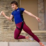 Marc Petrocci, flying as Peter Pan.