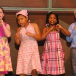 """Students from Hartford University School for Urban Exploration sing """"Agents of Change.""""   Photos by Patti Wenzel"""