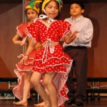 """Even the littlest dancers shake their stuff at the SHARP Literacy """"Circle of Life"""" celebration."""