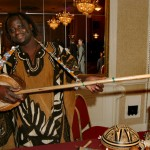 Oumar Sagna from Senegal, appearing for Milwaukee Public Theatre