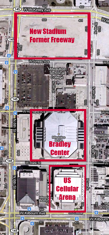 Tear It Down – US Cellular Arena vs Bradley Center