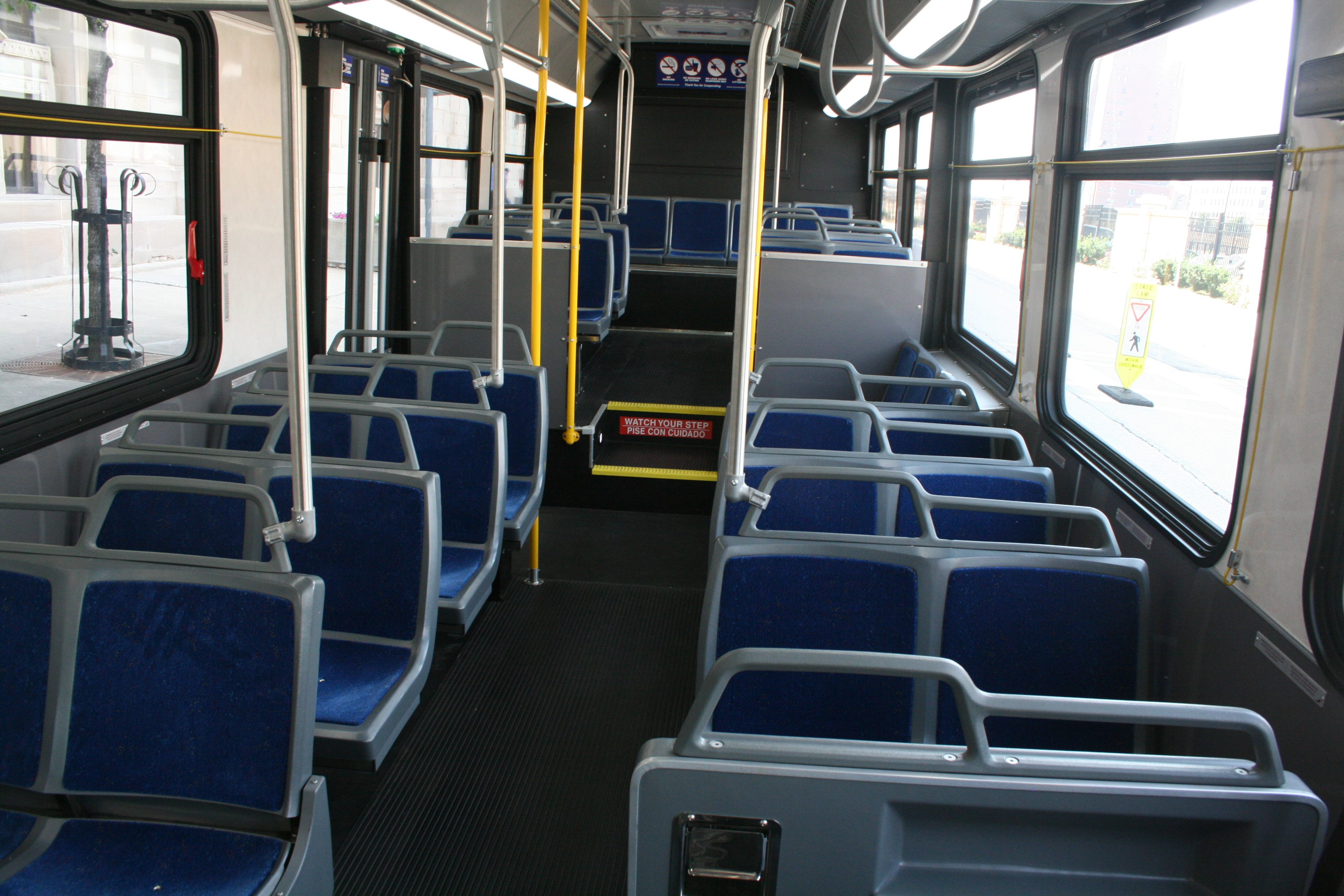 Mcts unveils new buses urban milwaukee for Interior news