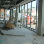 The retail stall along North Avenue will be utilized by UWM's The Grind coffee shop.