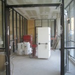 This will be the entrance to the housing facility along Cambridge.