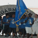 Athletes from the Milwaukee delegation enter the 2010 U.S. Youth Games