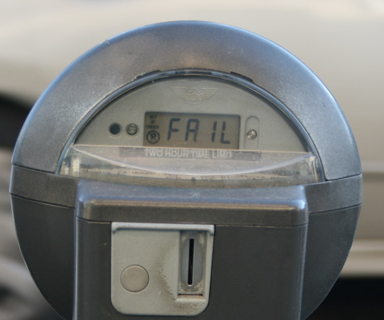 Parking meter privatization has failed to deliver value to-date
