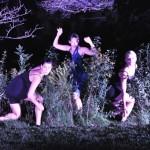 Wild Space dancers in natural habitat. Paul Gaudynski photo.