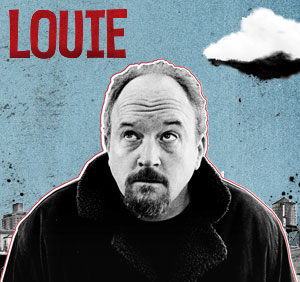 cover art for Louis CK's new show on FX, courtesy the comedian.