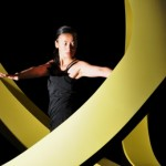 """Yeng Vang-Strath within """"Triad."""" Photo courtesy of Wild Space Dance Company by Paul Ga."""