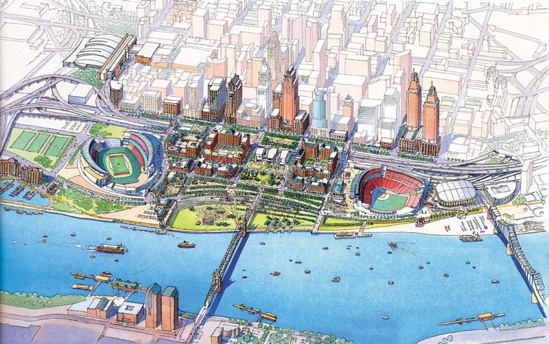 Cincinnati's Planned Freeway Cap Park