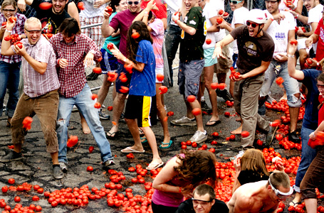 The East Side Business Improvement District's 11th Annual Tomato Romp Festival