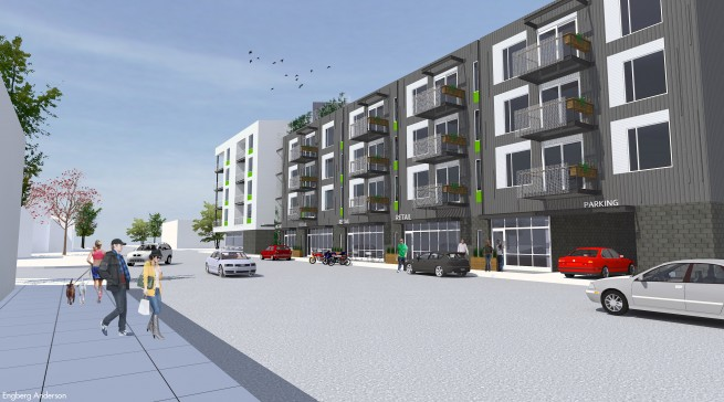 12 Million Mixed Use Building Proposed In Bay View