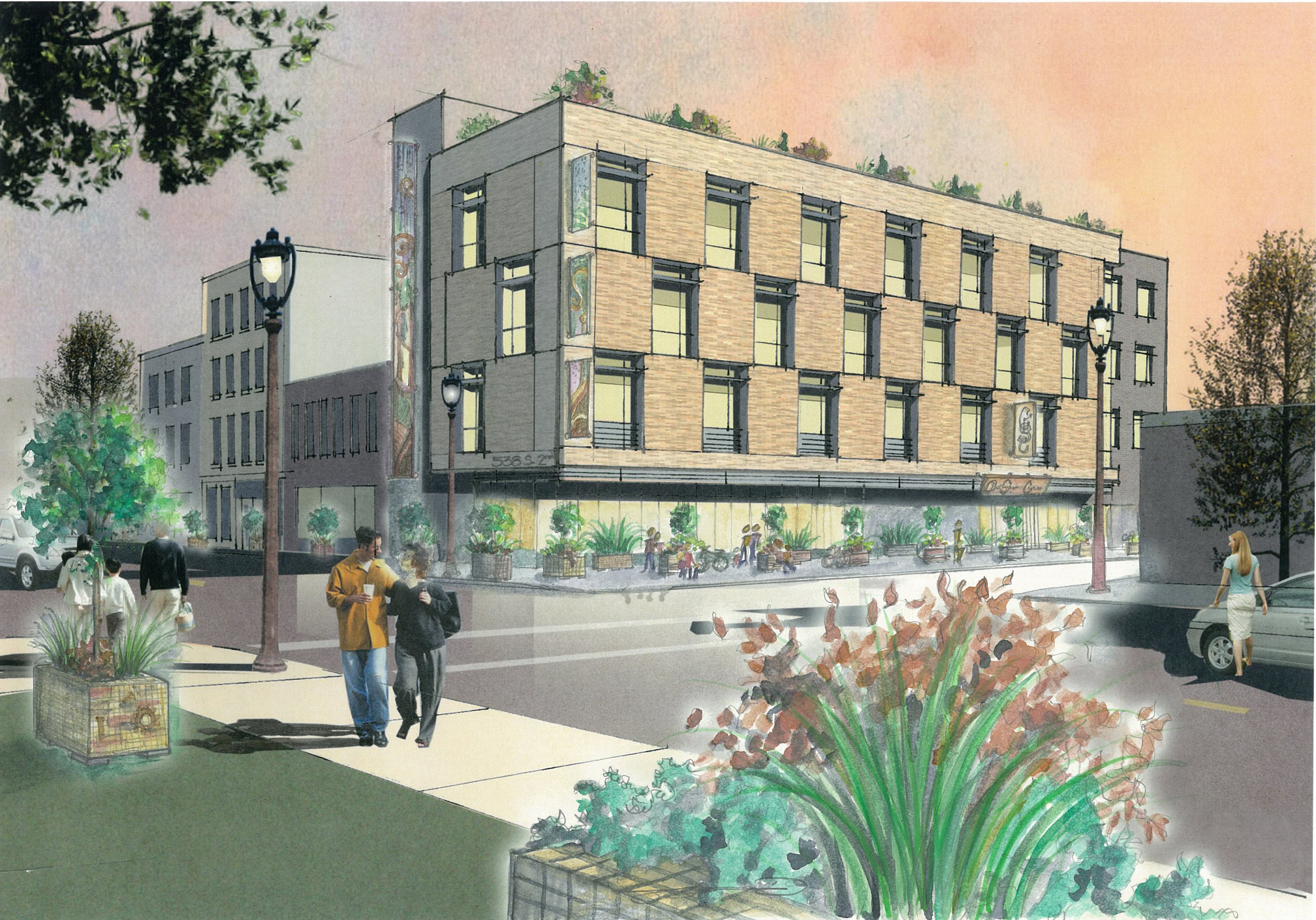 Green Development Planned for S. 2nd Street