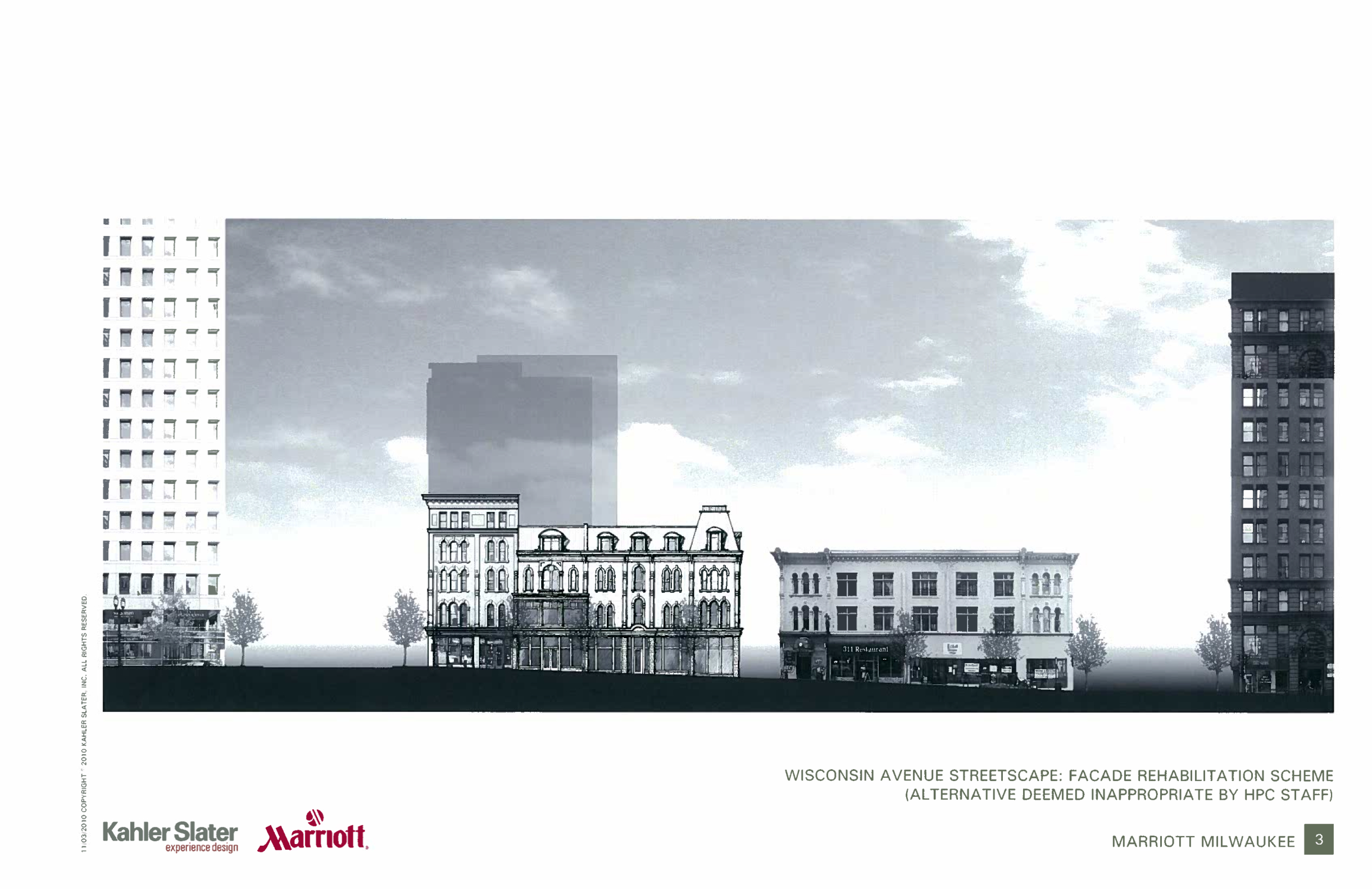 Marriott Hotel Project Wins Appeal on 3-2 Vote at Zoning Committee