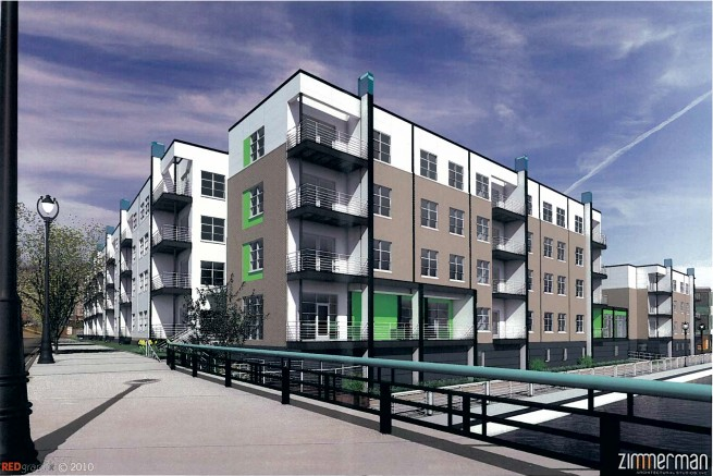 Beeerline B Apartments Rendering