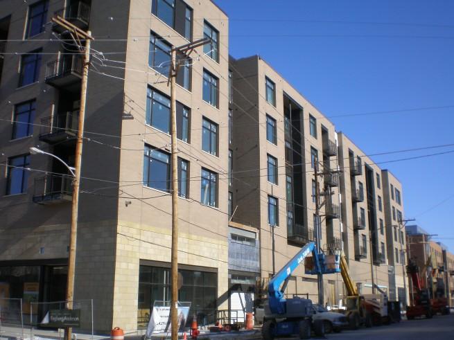 Corcoran Lofts Construction