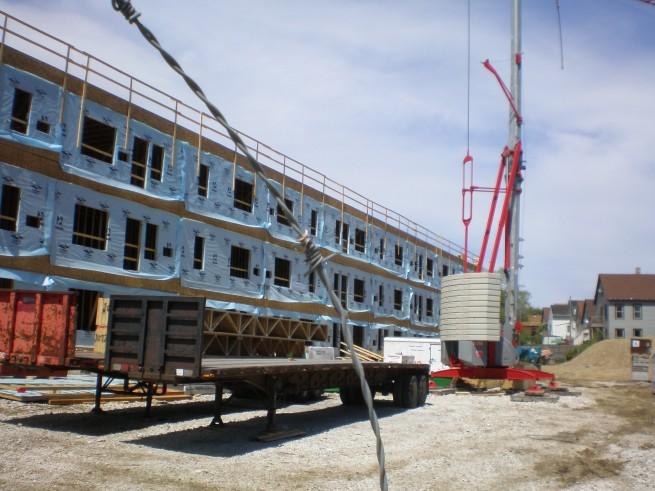 Hide House Lofts Construction