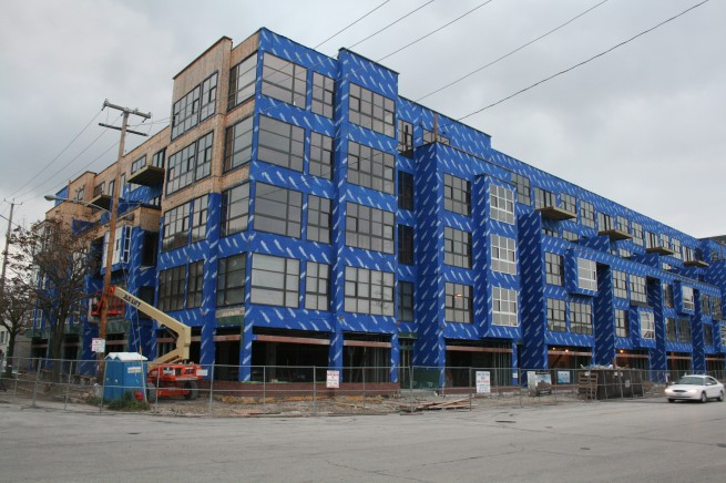 Jackson Square Apartments Construction