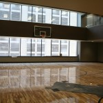 Basketball court at The City Center at 735