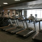 Workout equipment at The City Center at 735